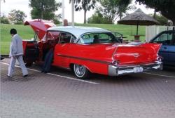 1958 Cadillac sedan deville, 4 door hardtop