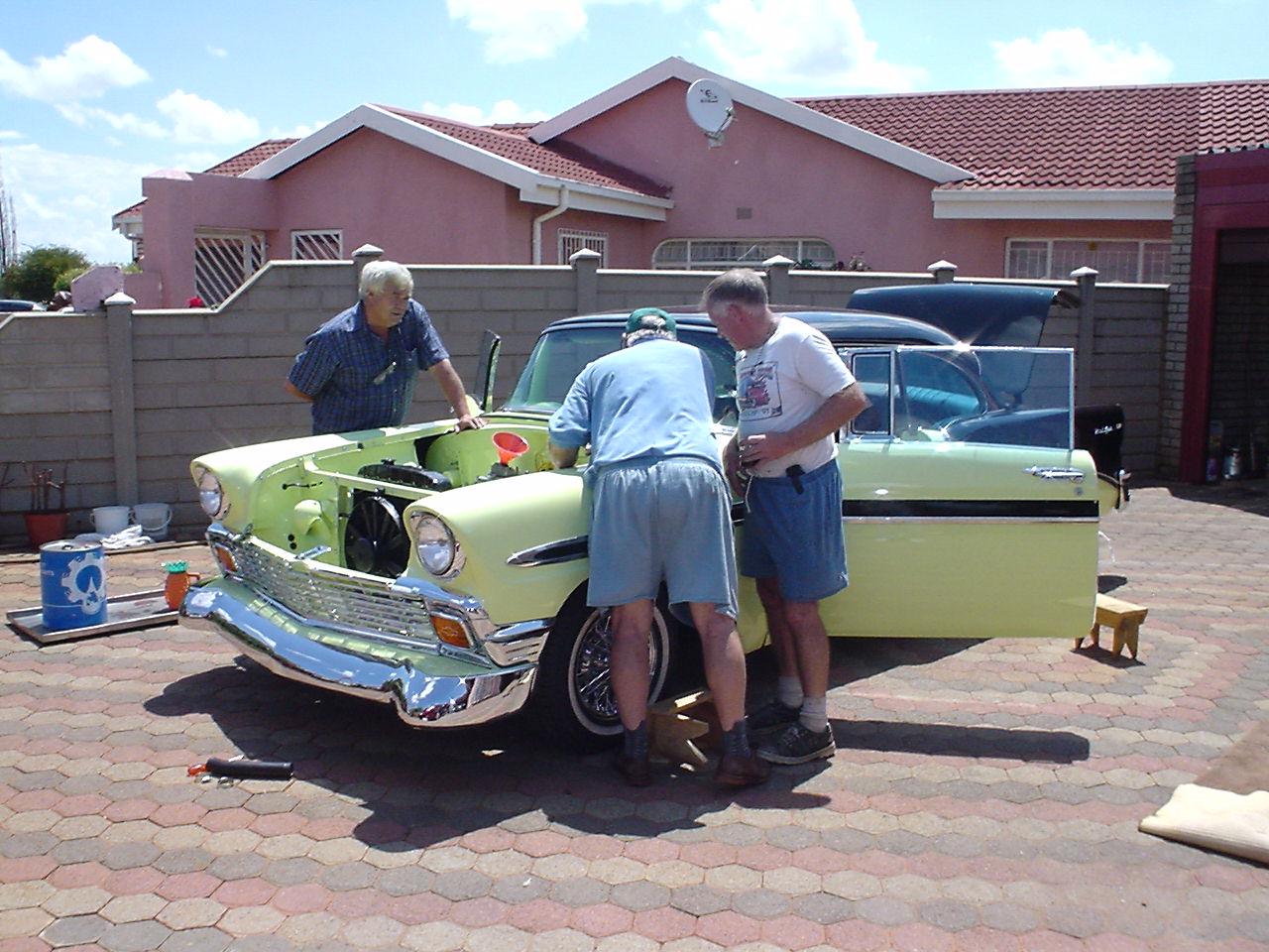 1956 Chevrolet 2 Door Hardtop